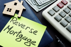 reverse mortgage retirement plan in development with calculator and funds